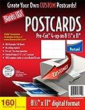 Blanks/USA Pre-Cut Postcards (PCQ40X9WH)