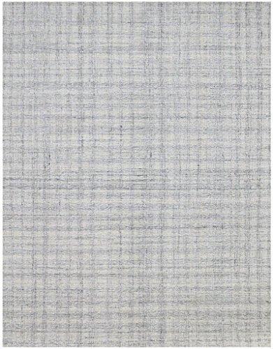 Amer LAU10203 Laurel 1 - Alfombra (Macho a Mano, 5,08 x 7,62 cm), Color Gris Claro