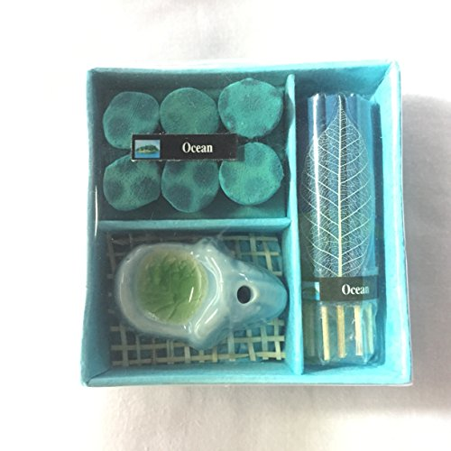 Ocean Incense candles Aroma Spa Home Mini Set Hold Incense NEW …