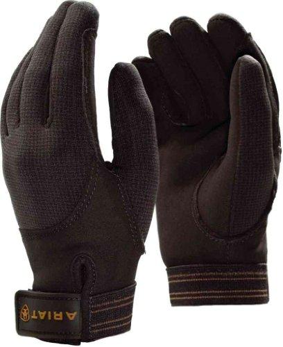 Ariat Insulated Tek Grip Everyday Riding Glove Brown