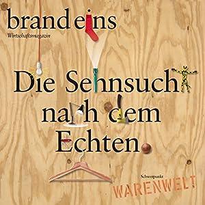 brand eins audio: Warenwelt Hörbuch