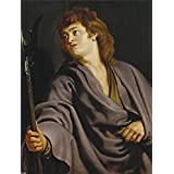 The high quality polyster Canvas of oil painting 'Rubens Peter Paul San Mateo 1610 12 ' ,size: 8 x 11 inch / 20 x 27 cm ,this Vivid Art Decorative Prints on Canvas is fit for dining Room decor and Home artwork and Gifts