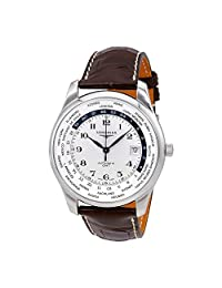 Longines Master Automatic GMT Silver Dial Mens Watch L2.802.4.70.3