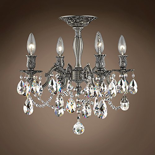 (Joshua Marshal 701585-018 - Traditional Versailles 4 Light 17