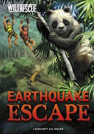 book cover of Earthquake Escape