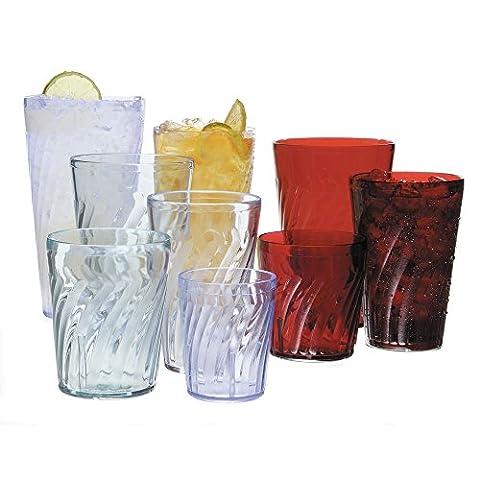 GET Tahiti 6 Oz Tumblers Clear SAN Plastic Drinkware - Drinkware Tahiti Tumblers