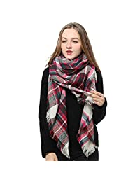 Natural Feelings Soft Plaid Tartan Fashion Blanket Pashmina Scarf Shawl Wraps