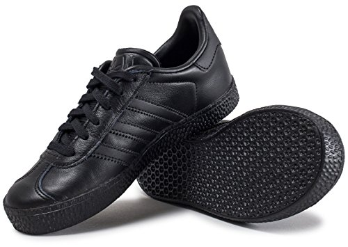 Adidas Gazelle C, Scarpe da Ginnastica Unisex – Bambini, Nero (Negbas), 28 EU