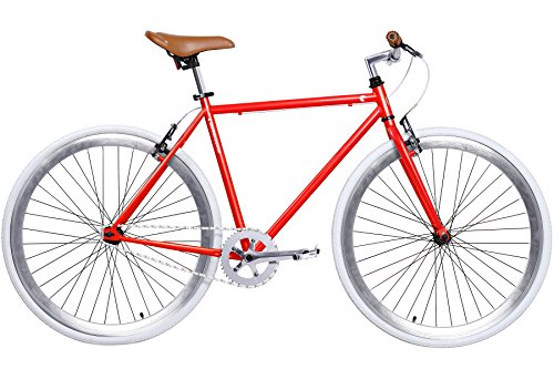 Gama Bikes Alley Cat Men's Commuter Bike, Enzo, 20″/One Size Review