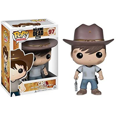 Funko POP! Television: The Walking Dead Series 4 Carl Action Figure: Funko Pop! Television:: Toys & Games
