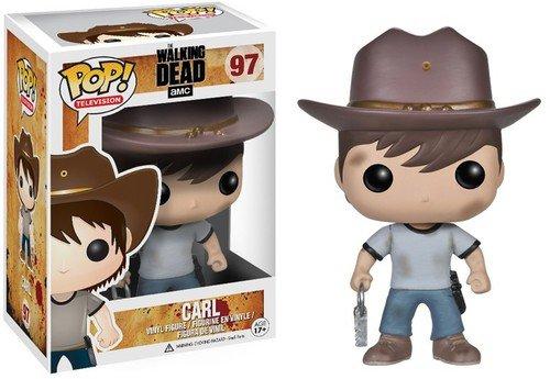 Funko POP! Television: The Walking Dead Series 4 Carl Action Figure (Television Pop Walking Dead)