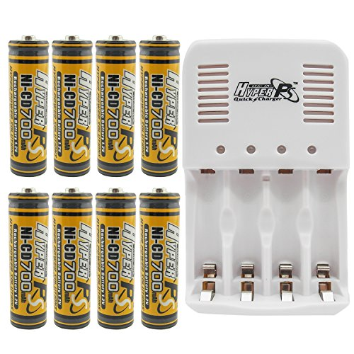 Solar Panel Aa Battery Charger - 6