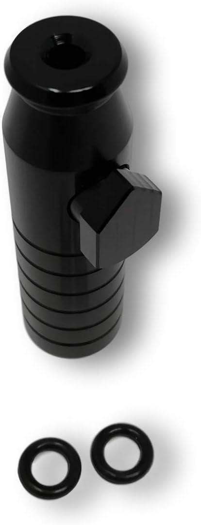 Aluminium /… EKNA Schnupftabakspender /& Dosierer f/ür Schnupftabak Gold Snuff Dispenser Snorter Rocket