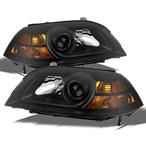 For Acura MDX Direct Replacement Black Bezel Headlights Driver/Passenger Head Lamps Pair New