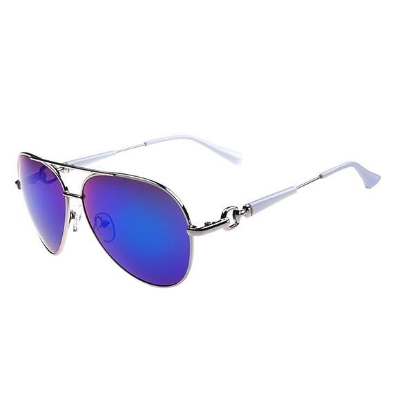 Tansle - Gafas de sol - para mujer Azul Blanco / Azul L ...