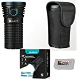 Olight X7 Marauder 9,000 Lumens 3x Cree XHP70 CW LED Flashlight, VARIABLE-OUTPUT SIDE-SWITCH, Holster and LegionArms 18650 Battery Case