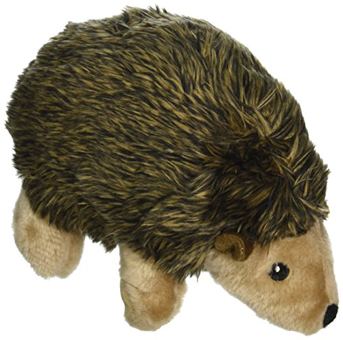 Ethical Pet Woodland Series 8.5-Inch Hedgehog Plush Dog Toy, Large (Booda Dog Toy)