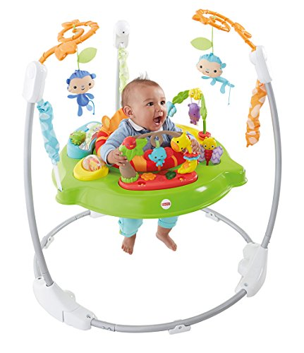 Fisher-Price Jumperoo Jungle Sons Lumières Jouet Musical