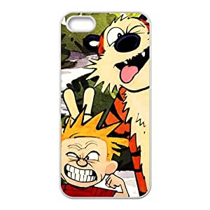 KKDTT Naughty tiger and boy Cell Phone Case for Iphone 5s