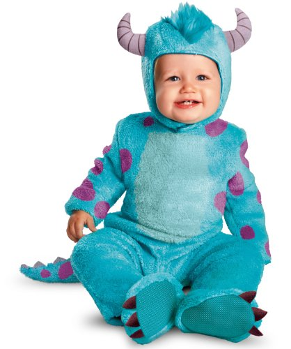 Disney Halloween Costumes For Boys (Disguise Costumes Disney Pixar Monsters University Sulley Classic Infant, Blue/Purple, 12-18 Months)