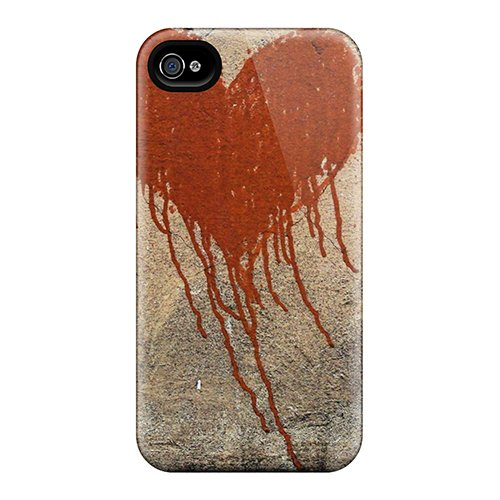Eco Friendly Dvd Packaging - Iphone 4/4s Cover Case - Eco-friendly Packaging(broken Heart)