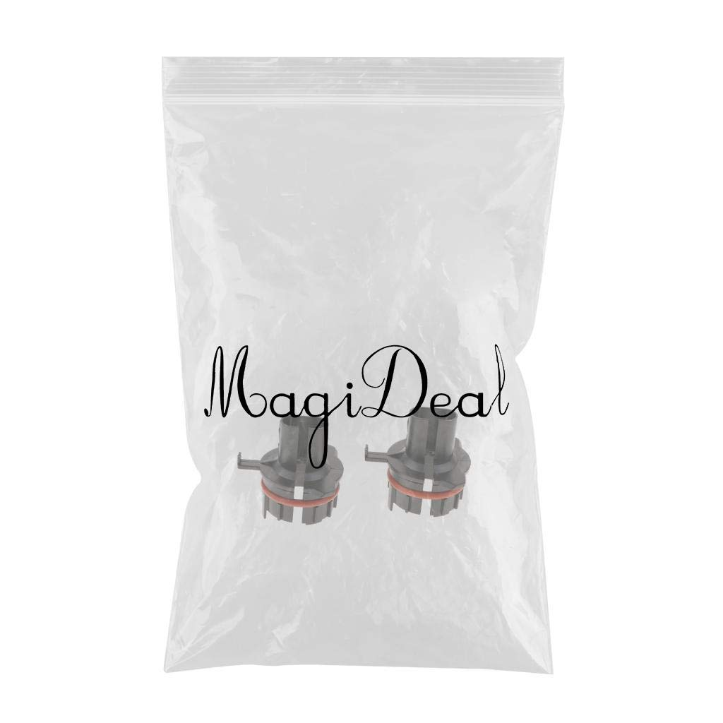 MagiDeal 2 Pieces H7 Xenon Bulb Holders Adapter for BMW E39-1 5 Series 1997-2000