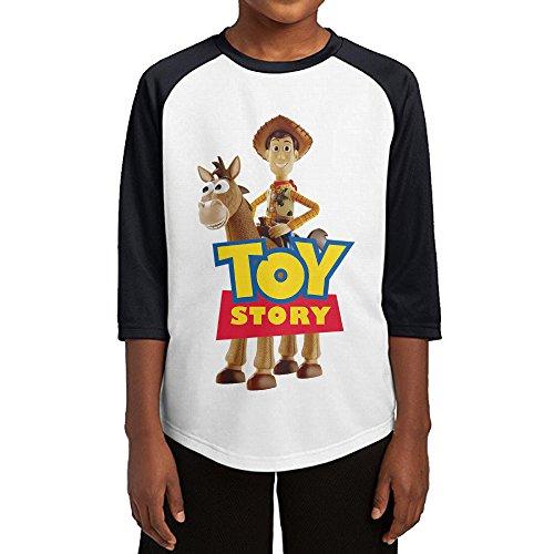 Zengababa Toy Story Woody Half Sleeve Raglan Baseball T Shirts For Teenagers (Toy Story Customes)