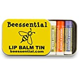 Beessential Assorted Lip Balm Five-pack Gift Tin