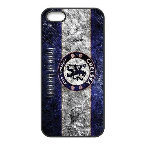 Chelsea coque iPhone 4 4S cellulaire cas coque de téléphone cas téléphone cellulaire noir couvercle EEEXLKNBC24144