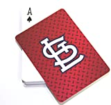 MLB St. Louis Cardinals Diamond Plate Playing Cards, 2-Pack