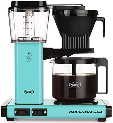 Technivorm Moccamaster 59160 KBG Turquoise (Turquoise Coffee Cup)