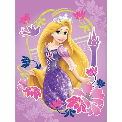 Northwest Disney Tangled Rapunzel fleece blanket throw