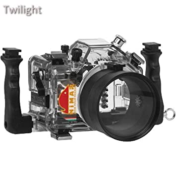 Nimar carcasa submarina para Nikon D5200 con puerto de ...