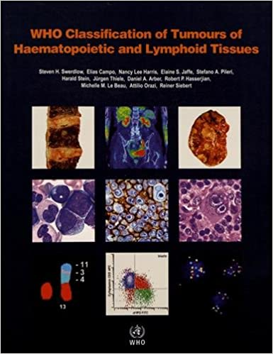 amazon who classification of tumours of haematopoietic and