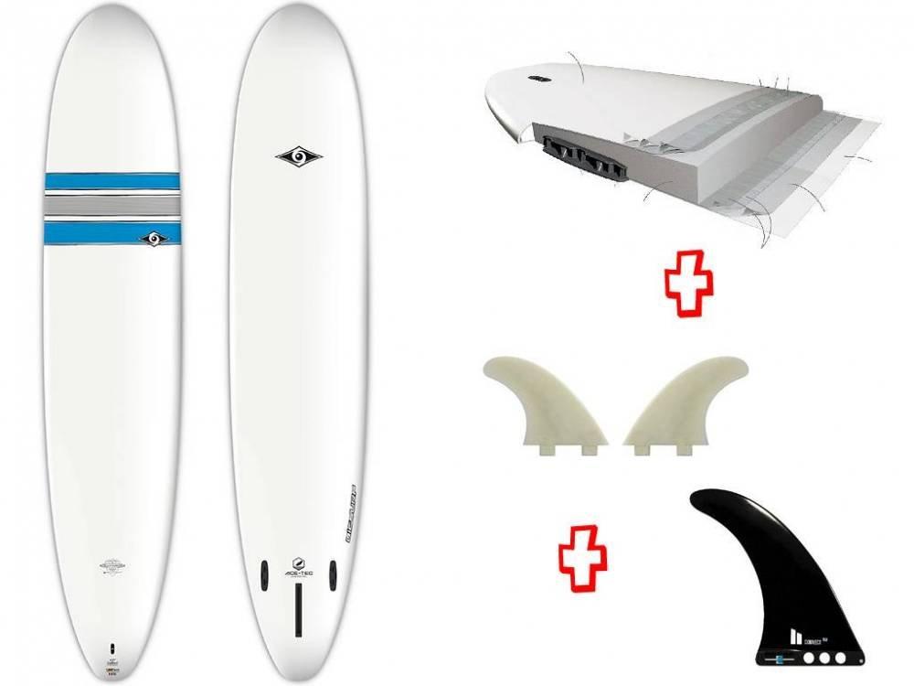 BIC 9 0 LONGBOARD Ace de Tec Tabla de Surf: Amazon.es: Deportes y aire libre