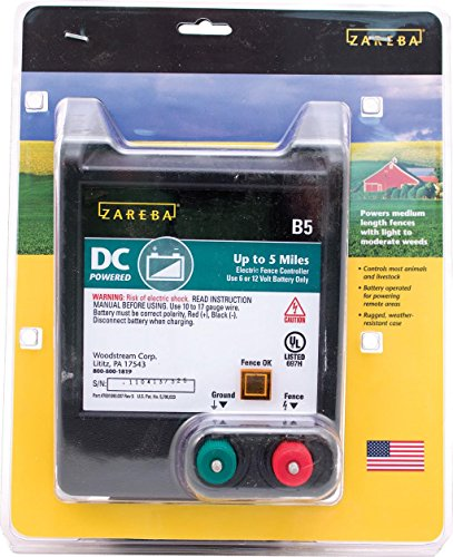 ZAREBA BATTERY OPERATED SOLID STATE FENCE CHARGER - 5 - Solid State Fencer