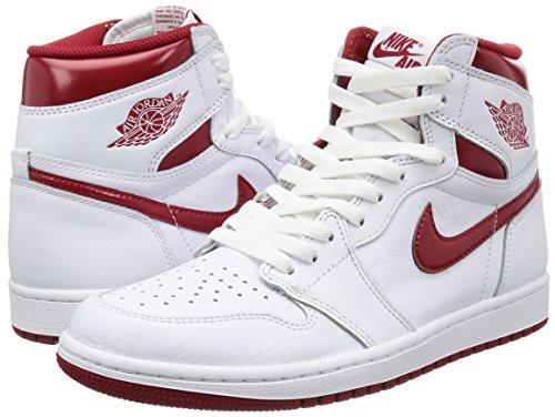 841431f3cec Jual Air Jordan 1 Retro High OG  Metallic Red  - 555088 103 ...
