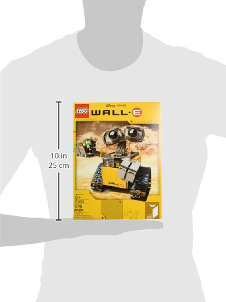 LEGO Ideas WALL E 21303 Building Kit by LEGO (Image #14)
