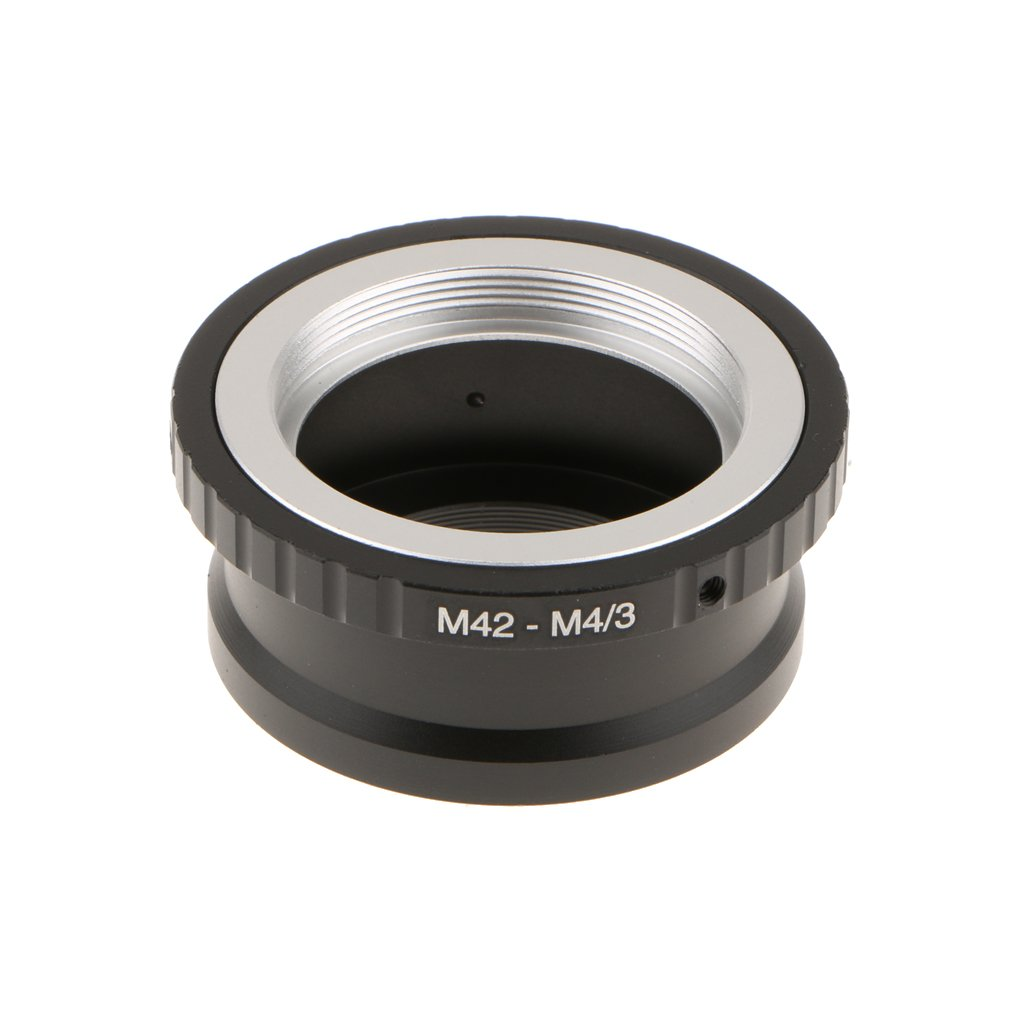 Fityle Lens Mount Adapter Ring Connector for M42 to Micro Four Thirds m4/3 Camera