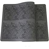 Anyana sugar edible Leaves lace cake silicone Embossing Mat Texture fondant impression lace mat decorating mold gum paste cupcake topper icing candy imprint baking moulds craft