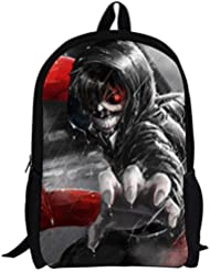 YOYOSHome Anime Tokyo Ghoul Cosplay Kaneki Ken Book Bag Rucksack Backpack School Bag