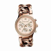 Michael Kors Women's Runway MK3247 Rose-Gold Stainless-Steel Quartz Watch