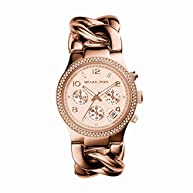 Michael Kors Women's  Runway Rose Gold-Tone Watch MK3247