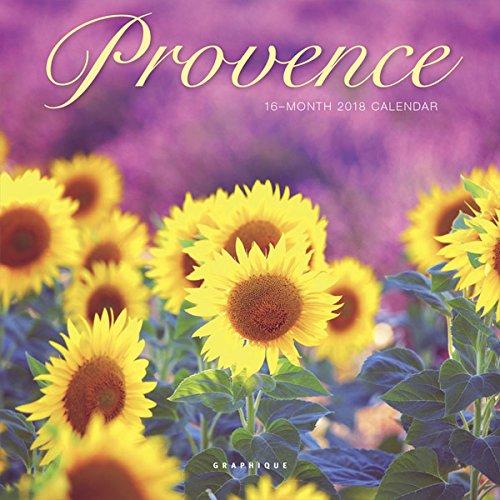 Graphique 2018 Provence Mini Calendar