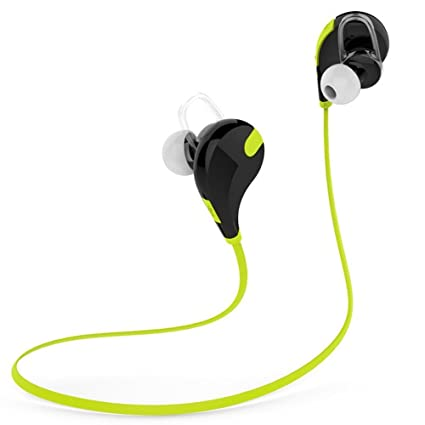 66c175d98cd jogger QY7 Wireless Bluetooth Sports Headset with Mic: Amazon.in:  Electronics