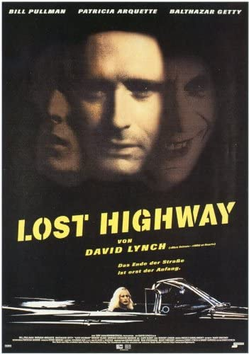 Amazon.com: ArtFuzz Lost Highway 11 x 17 Movie Poster - German Style A:  Posters & Prints