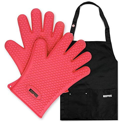 FERS Cooking Silicone Gloves Barbecue