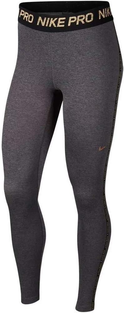 Nike Pro Collant et Leggings pour Femme XL Gris/Bronze (Oil ...