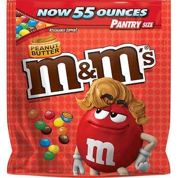 M&M's Peanut Butter  - 50 oz. bag