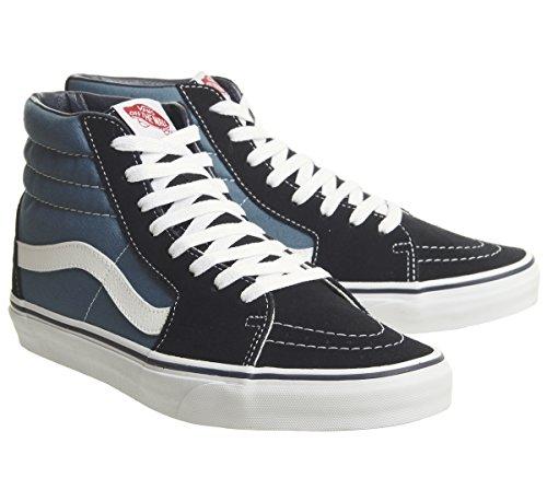 Adulto Suede Altas Vans Classic Unisex Zapatillas Azul Sk8 Hi Canvas qa8xvOa